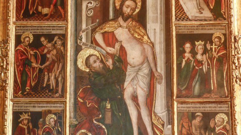 La incredulidad de Santo Tomás (Iglesia Prioral de Santa María, Carmona)