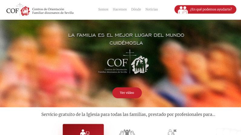 Nueva web de los COFs en Sevilla, un espacio para la familia