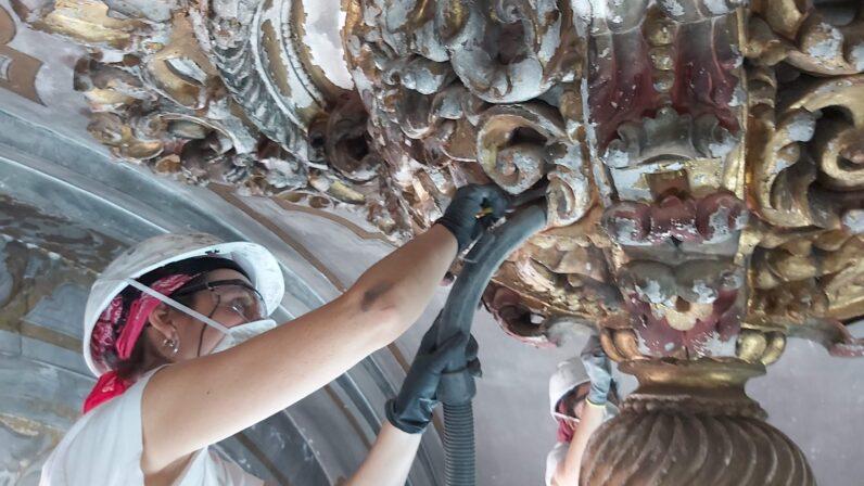 Finaliza la primera fase de intervención en la Parroquia Santa María Magdalena