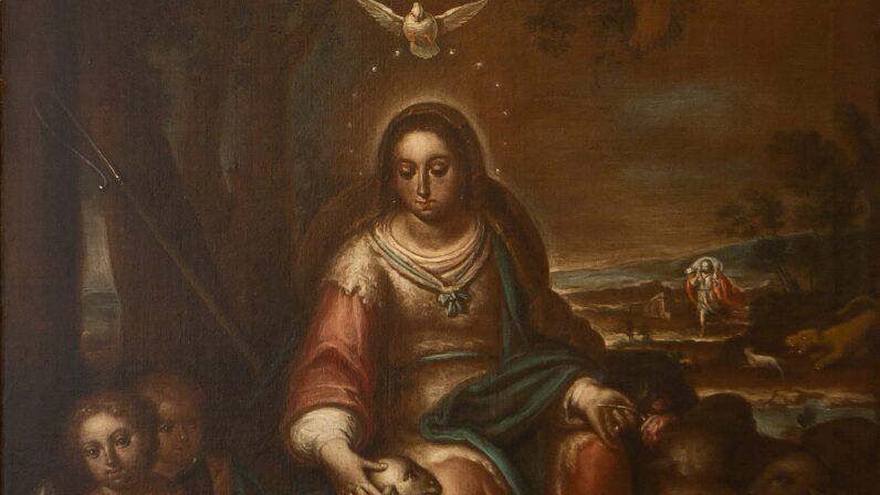 Divina Pastora, Parroquia de la Purísima Concepción (Brenes)