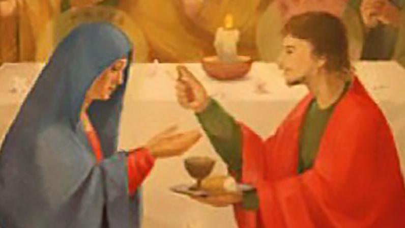 La Comunión de la Virgen, Capilla de la Estrella (Sevilla)