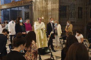 Celebración del Corpus Christi en la Catedral de Sevilla 2020