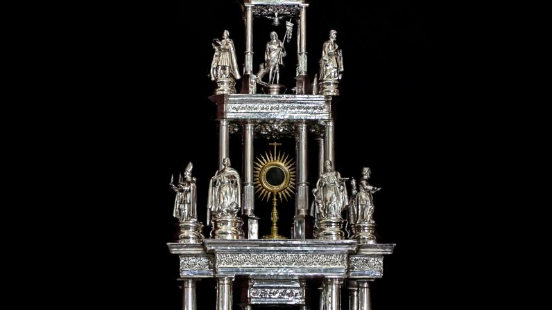 La Custodia de la Parroquia de Santa María la Mayor de Pilas (I)