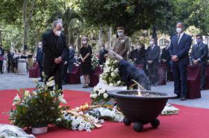 Homenaje a las víctimas de COVID-19