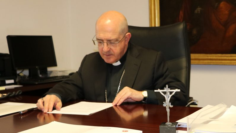 """Monseñor Santiago Gómez: """"Mi gratitud al Papa Francisco por la confianza que manifiesta al haberme elegido para este ministerio"""""""