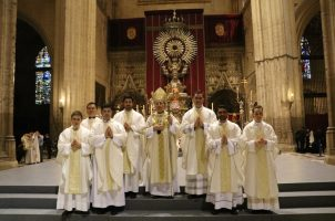 Siete nuevos sacerdotes para la Iglesia en Sevilla