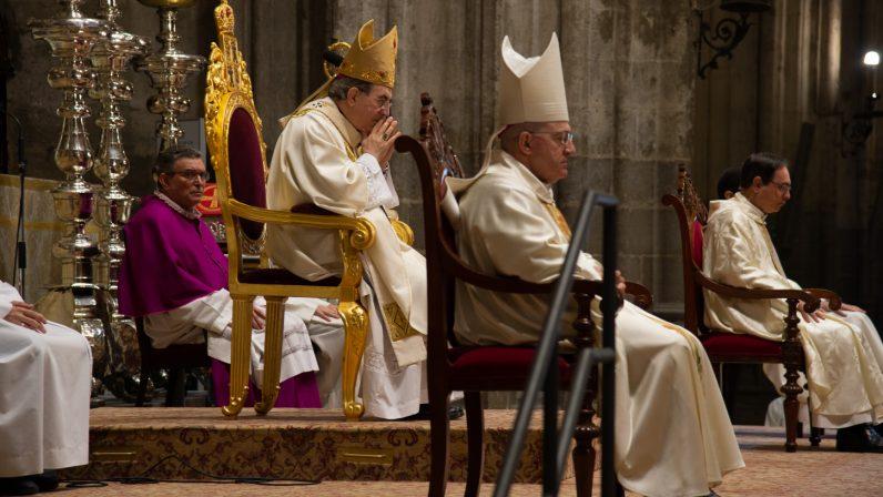 Despedida del clero diocesano a Monseñor Gómez Sierra