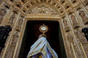 Solemnidad del Corpus Christi 2020 en la Catedral de Sevilla