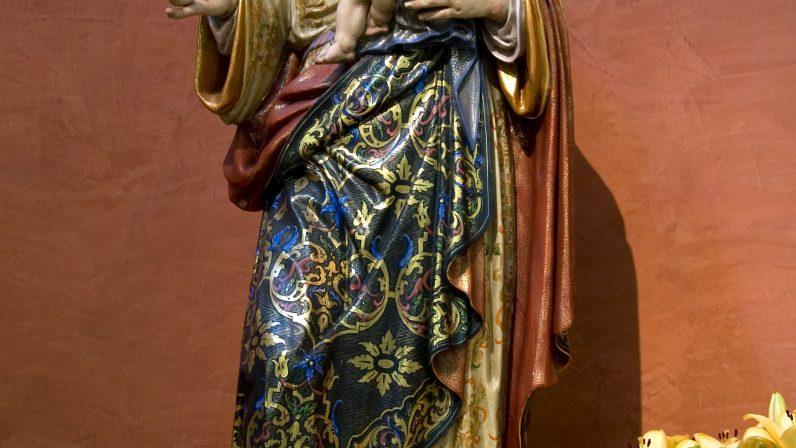 Virgen de la Salud, en la Parroquia de Nuestra Señora de la Salud (Sevilla)