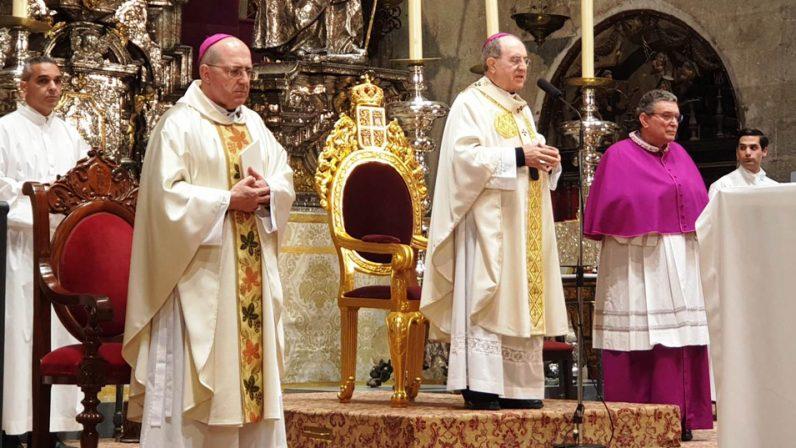 """El Arzobispo agradece a monseñor Santiago Gómez """"sus consejos siempre atinados y pastoralmente luminosos"""""""