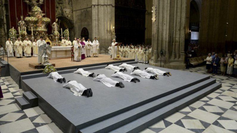 La Catedral acogerá el sábado las ordenaciones de siete nuevos sacerdotes
