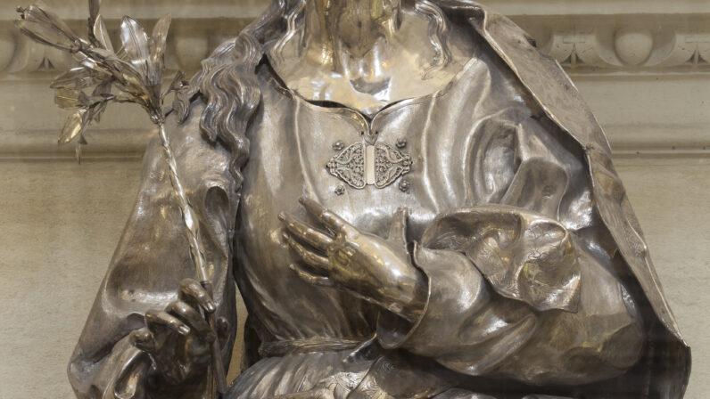 Busto Relicario de Santa Rosalía de Palermo (Catedral de Sevilla)
