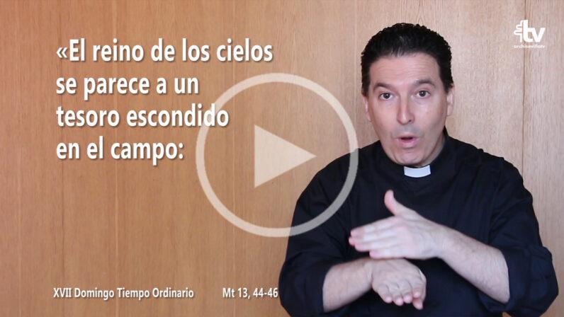 Evangelio del XVII Domingo de Tiempo Ordinario (ciclo A) en LSE
