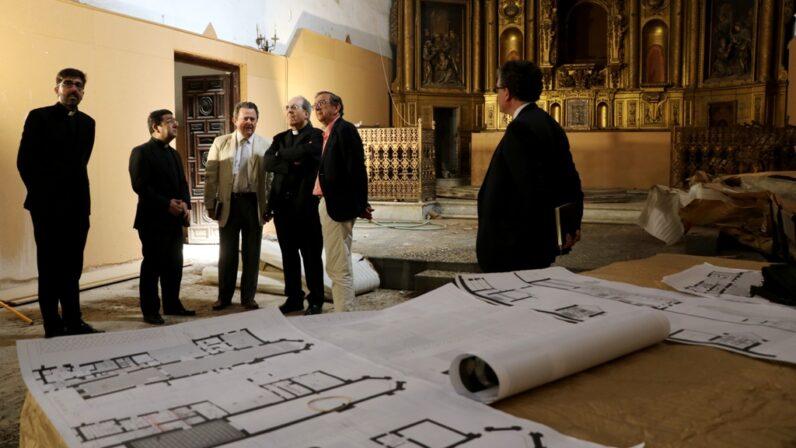 La Archidiócesis lanza el concurso para las obras de restauración de Santa Clara