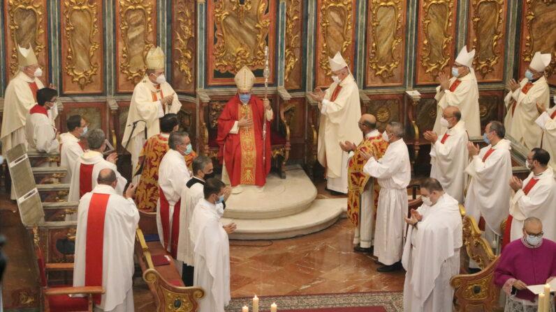 Mons. Santiago Gómez Sierra toma posesión como nuevo Obispo de la Diócesis de Huelva