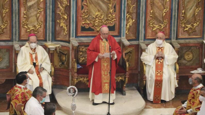 Monseñor Santiago Gómez Sierra, Obispo de Huelva