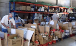 La Asociación Pro-Vida Mairena dona más de 4.000 kilos de alimentos a familias vulnerables