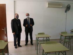 Bendición de las nuevas instalaciones del colegio diocesano de San Bernardo