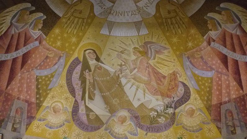 Los frescos de la Parroquia de Santa Teresa (II)