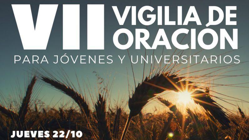 Hoy se celebra la VII Vigilia de oración para universitarios