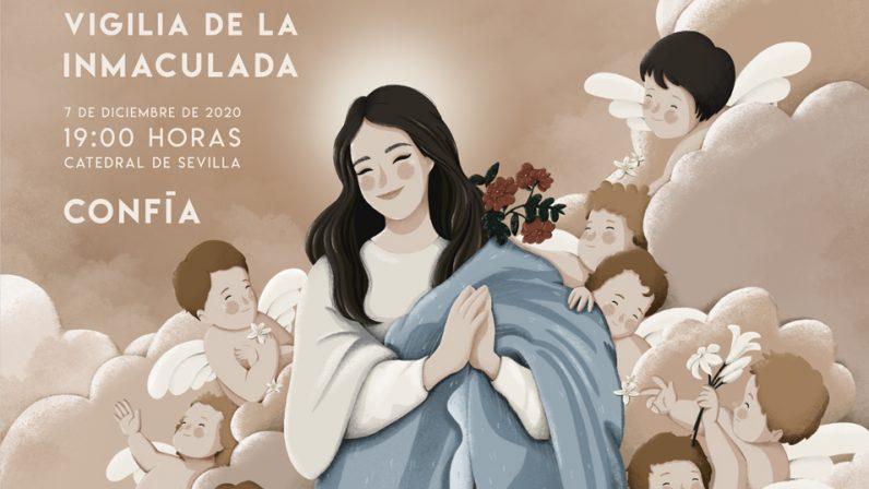 'Confía' será el lema de la Vigilia de la Inmaculada 2020 de la Pastoral Juvenil
