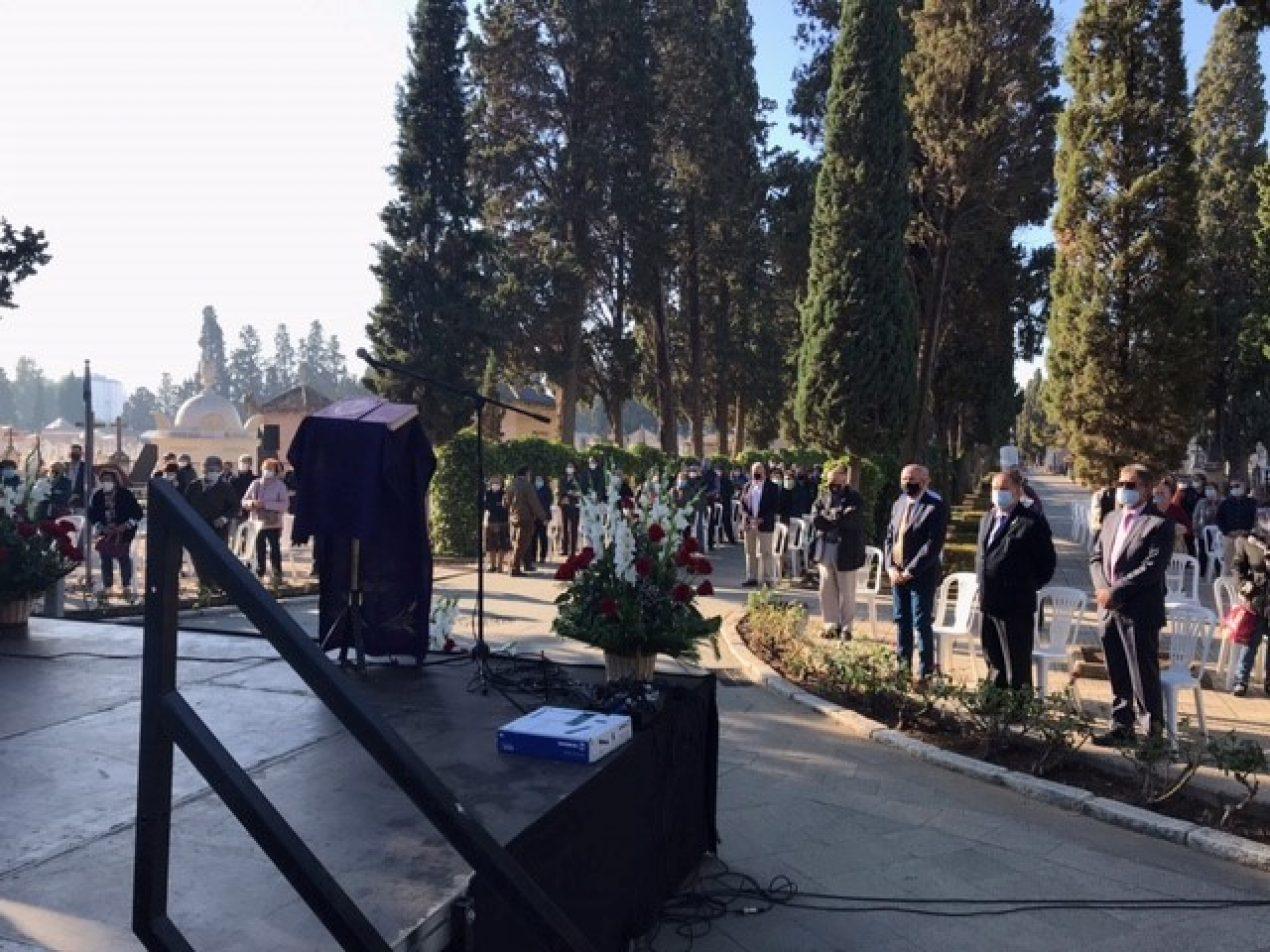 Misa por los fieles difuntos en el Cementerio de San Fernando (noviembre 2020)