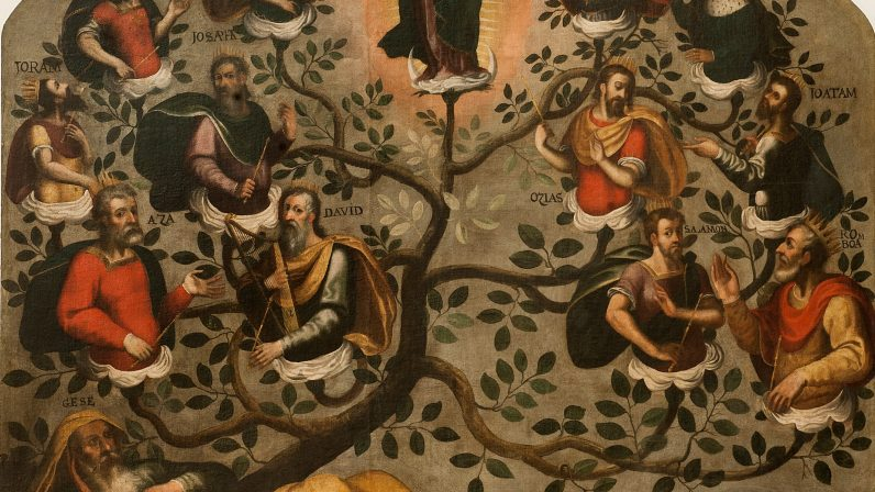 Árbol de Jesé. Parroquia de San Martín de Tours (Bollullos de la Mitación)