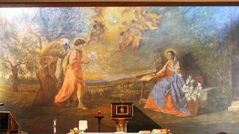 Anunciación. Oratorio de las Esclavas del Sagrado Corazón (Sevilla)