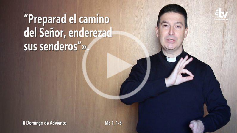Evangelio del II Domingo de Adviento (ciclo B) en LSE