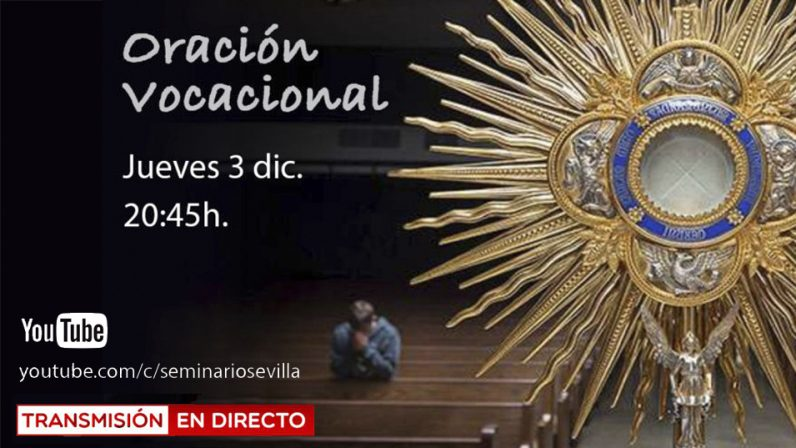 El Seminario retransmite a partir del jueves oraciones vocacionales en su canal de Youtube