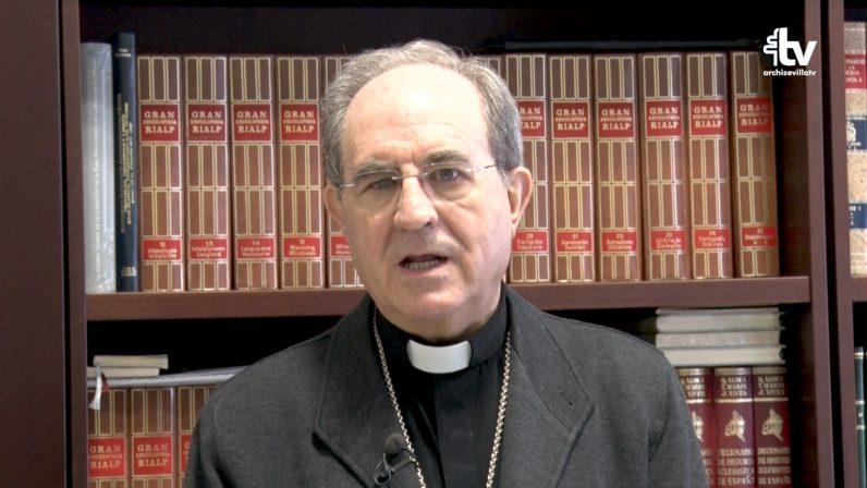 Mensaje del Arzobispo de Sevilla ante el fallecimiento de Monseñor Juan del Río, Arzobispo Castrense