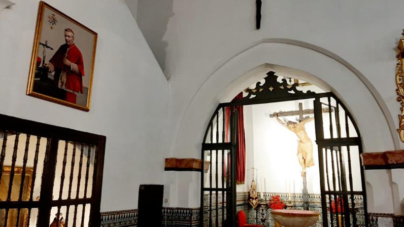 La Parroquia Santa María La Mayor recibe un lienzo del beato Marcelo Spínola