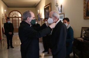Medalla Pro Ecclesia Hispalense a un servidor del Seminario Metropolitano de Sevilla