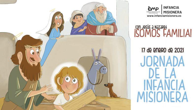 'Jornada de la Infancia Misionera 2021', carta pastoral del Arzobispo de Sevilla