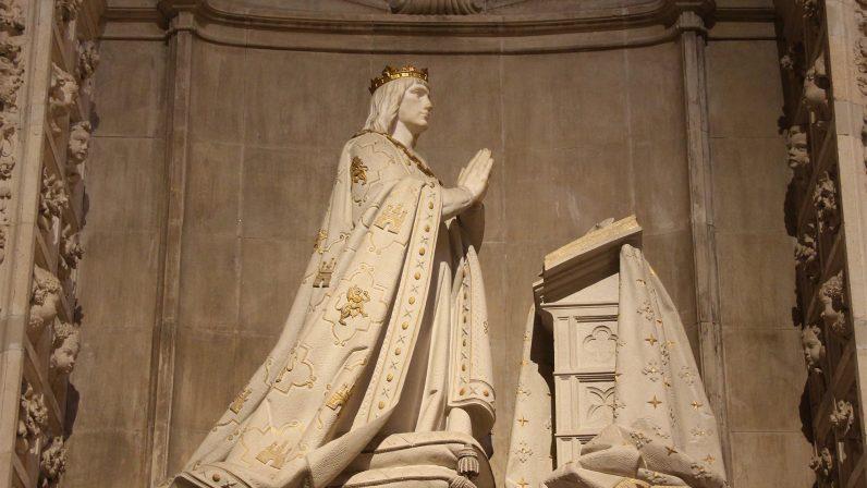 Sepulcro de Alfonso X. Capilla Real de la Catedral de Sevilla