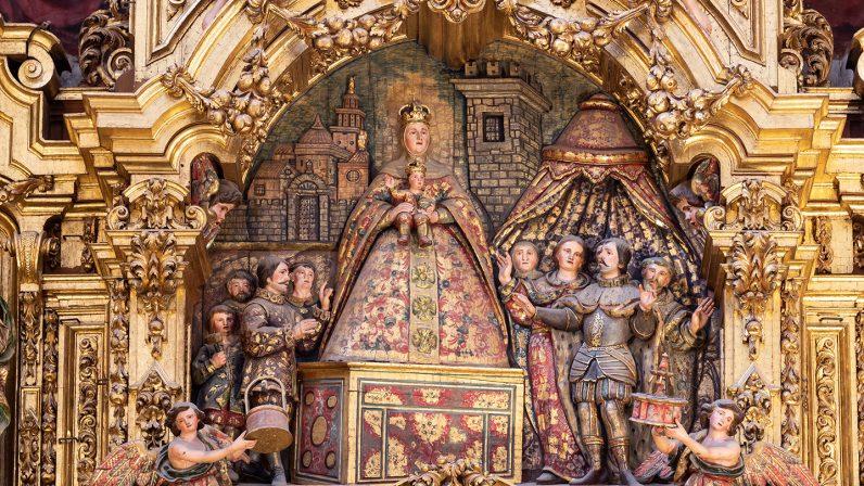 Presentación de la Virgen de las Aguas a San Fernando