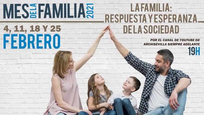 Febrero acoge el Mes de la Familia con cuatro ponencias online