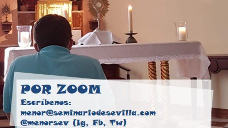 Una tarde virtual en el Seminario Menor