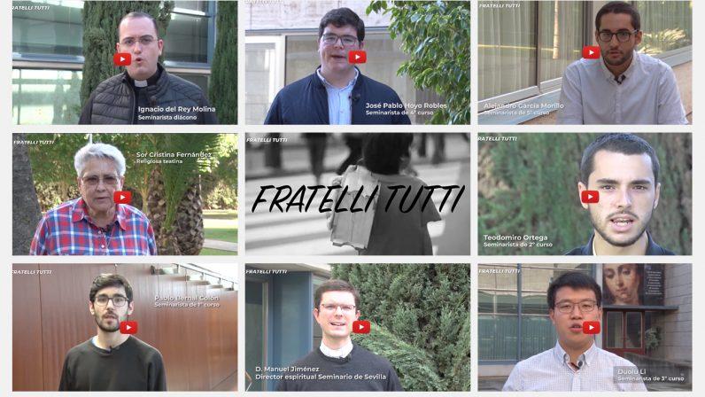 Seminaristas, formadores y religiosas del Seminario de Sevilla reflexionan sobre la encíclica Fratelli Tutti