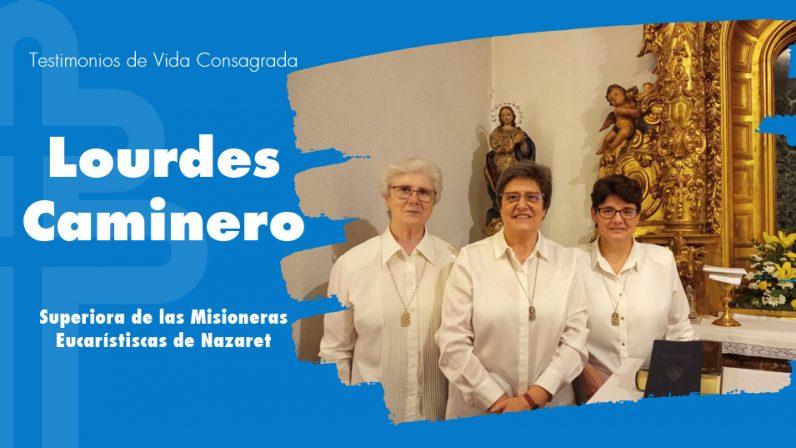 Hna. Mª Lourdes Caminero, nazarena: El regalo de experimentar la Presencia viva de Jesús en la Eucaristía