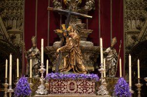 Vía Crucis Penitencial de las Hermandades y Cofradías de Sevilla en la Catedral