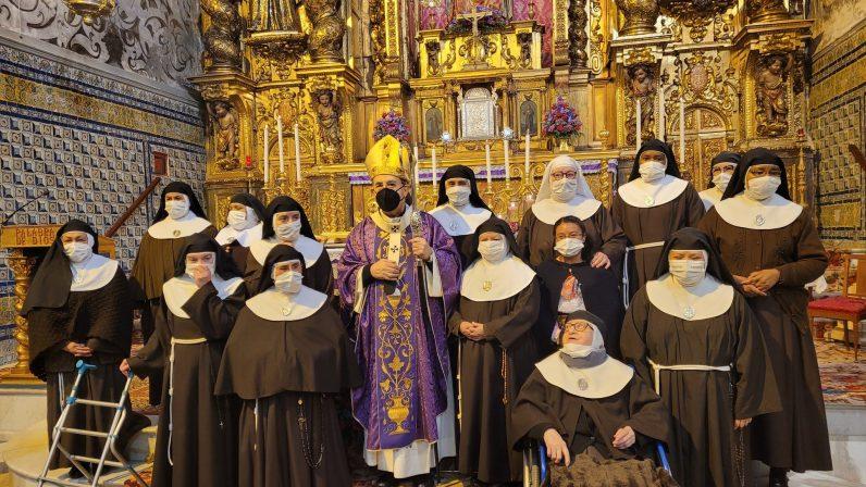El Arzobispo clausura el año jubilar del monasterio de Santa María de Jesús