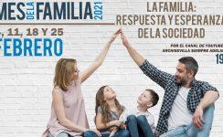 El Mes de la Familia concluye el día 25 con una mesa redonda sobre la riqueza de la familia cristiana