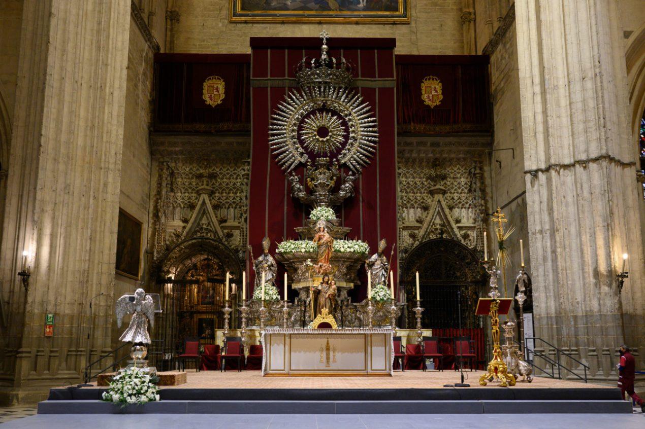 Domingo de Ramos en la Catedral de Sevilla