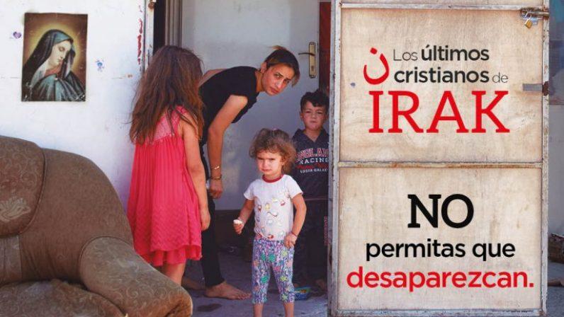 Ayuda a la Iglesia Necesitada organiza una charla virtual el viernes 5 de marzo sobre los cristianos de Irak