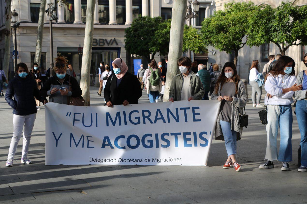 La Delegación diocesana de Migraciones celebró un Círculo de Silencio por la Eliminación de la Discriminación Racial