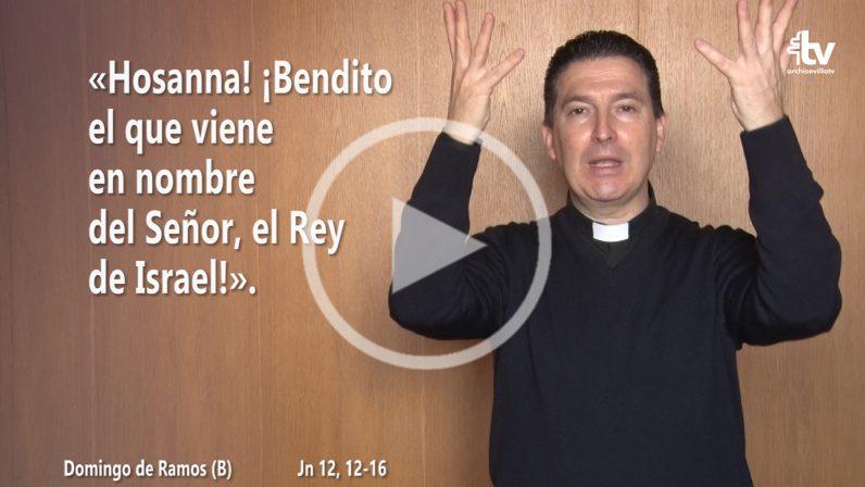 Evangelio del Domingo de Ramos (Procesión de Palmas) en LSE (ciclo B)