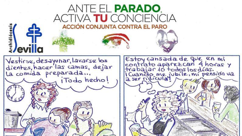 Nuevo cómic de la Pastoral Obrera para hablar de trabajo precario