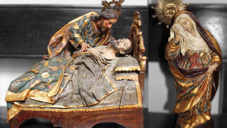 Muerte de San José. Capilla de San José (Sevilla)