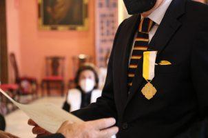 Medallas Pro Ecclesia et Pontifice a Rafael Manzano y Enrique Ybarra
